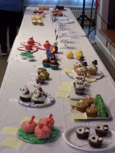 Cupcake entries for Display and Recipe categories
