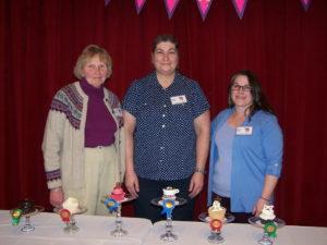 Our Cupcake Wars Coordinators: Frietha, Allison, and Robin