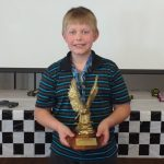 Nathan B was the winner of the Pine Car Derby held at our church on April 24!