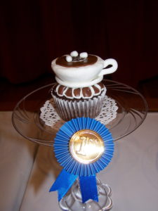 First Place Display Cupcake