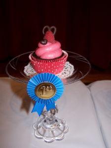 First Place Recipe Cupcake