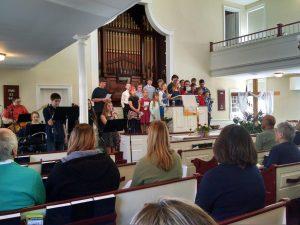 Youth-Led Worship Service